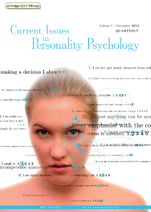 Current Issues In Personality Psychology